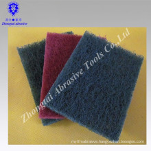 abrasive type Green Scouring Pads for cleaning